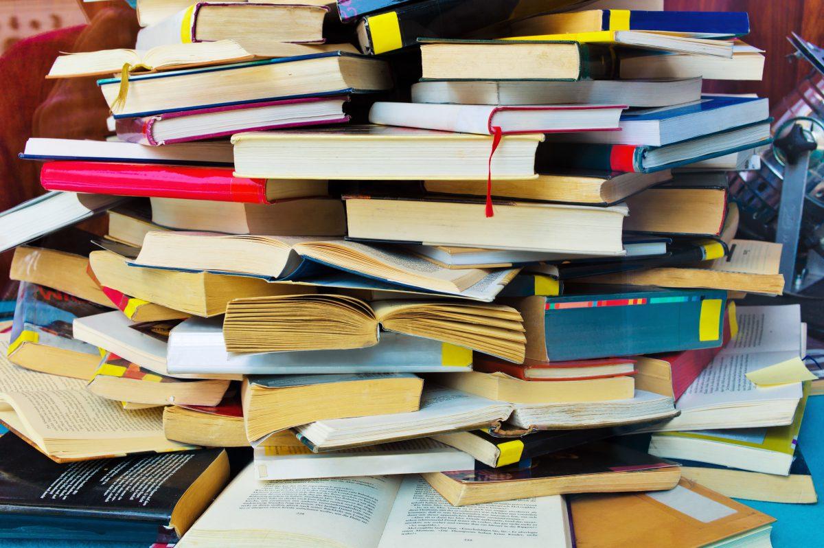 Books - How to de-clutter