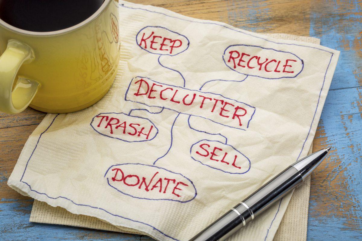 Clutter words - How to de-clutter