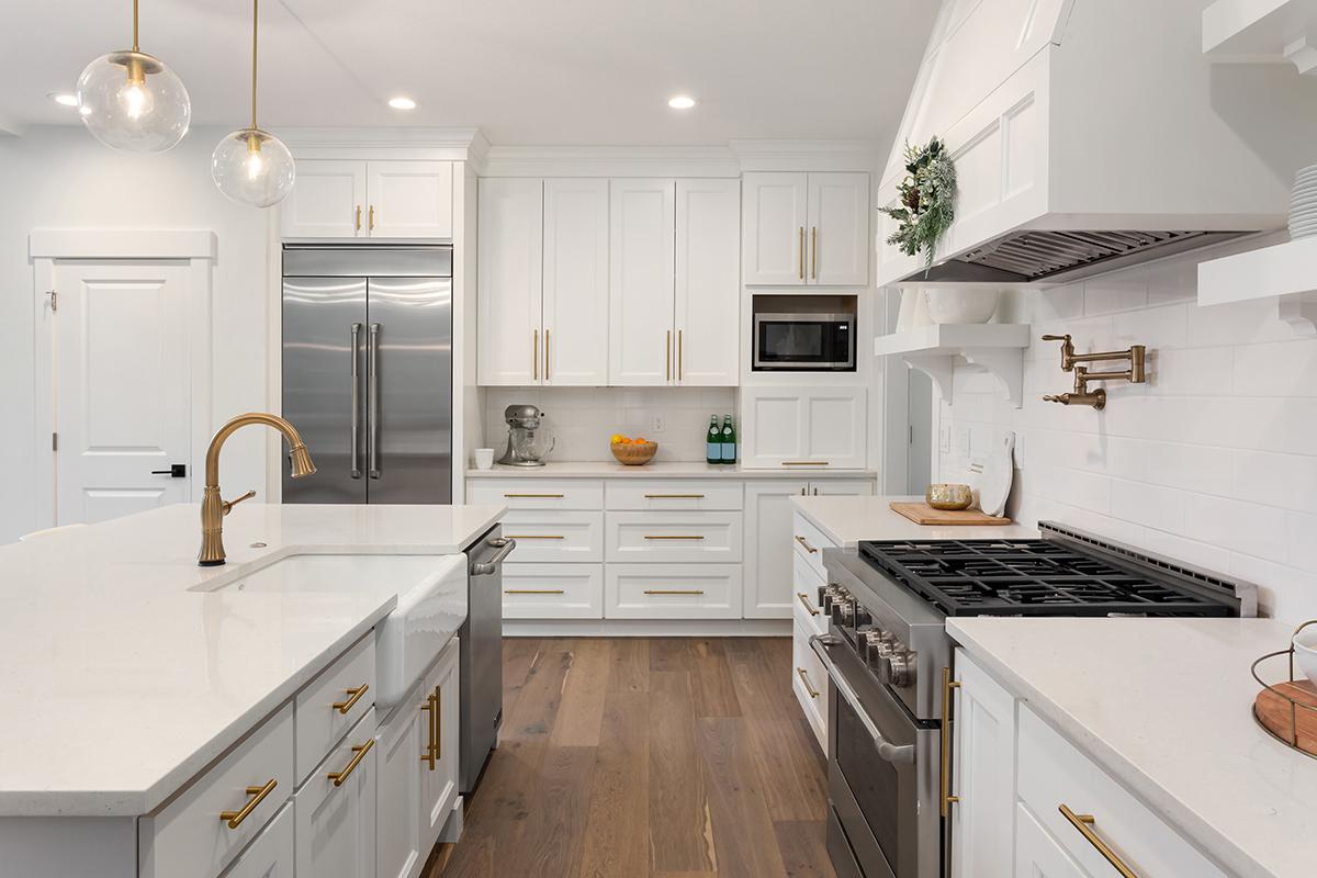 Interior Design white kitchen