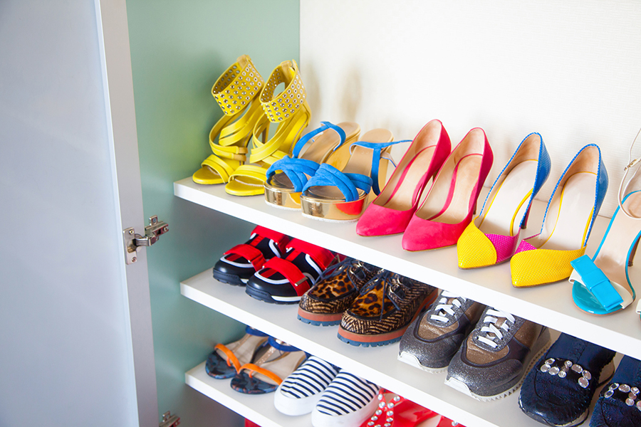 Stay at home tidy up shoes
